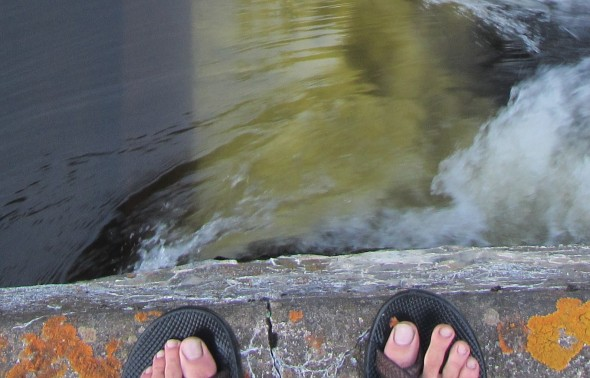 Standing on the Dam