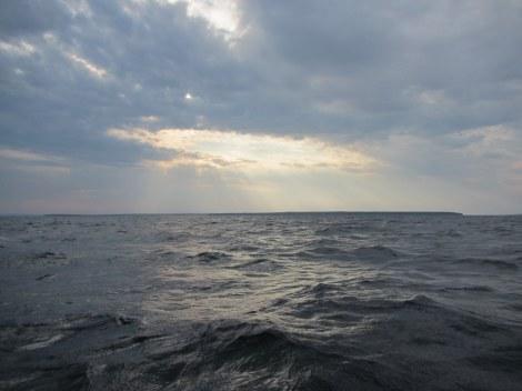 Sunset near Outer Island