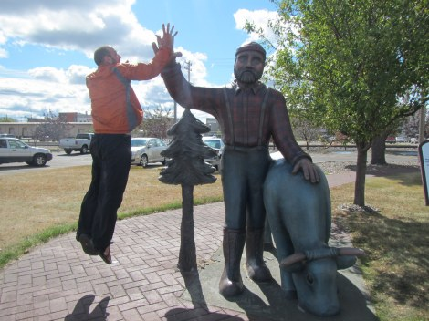 Even Paul Bunyan Gives You a High-Five After the Savanna Portage