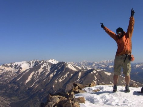 The Hat on the highest point on the CDT