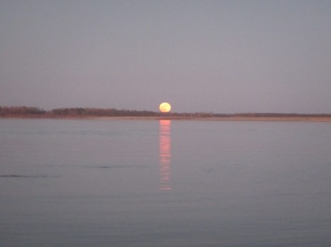 Moonrise on the Mississippi