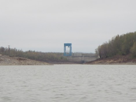Old River Control Structure