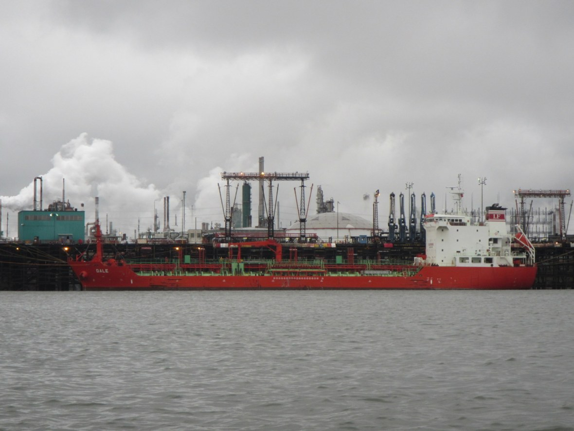 Freighter in Baton Rouge