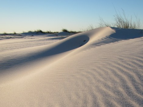 Sand Dunes in the Gulf