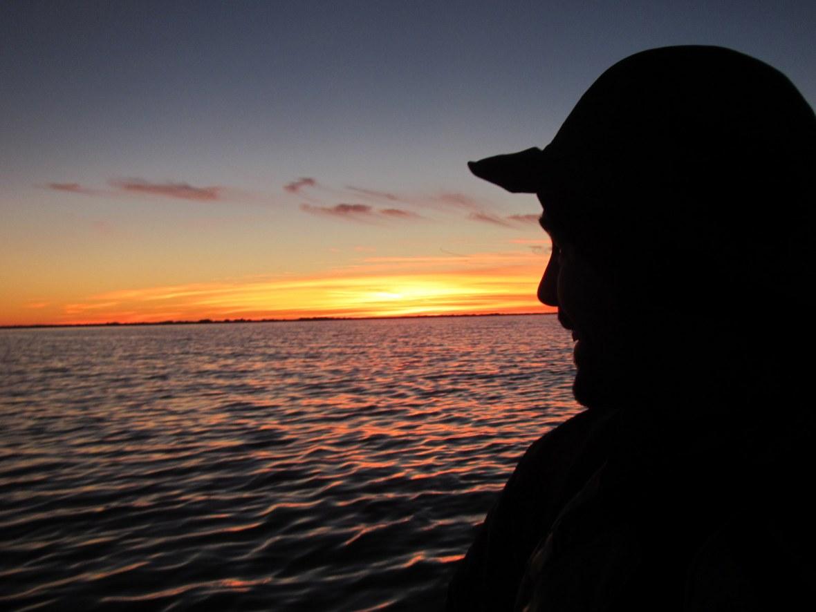 Sunset over Gulf Islands National Seashore