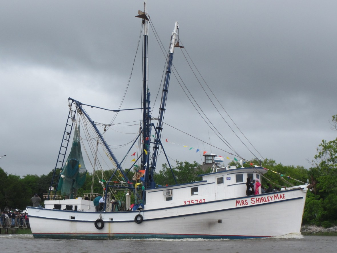 Blessed Shrimp Boat