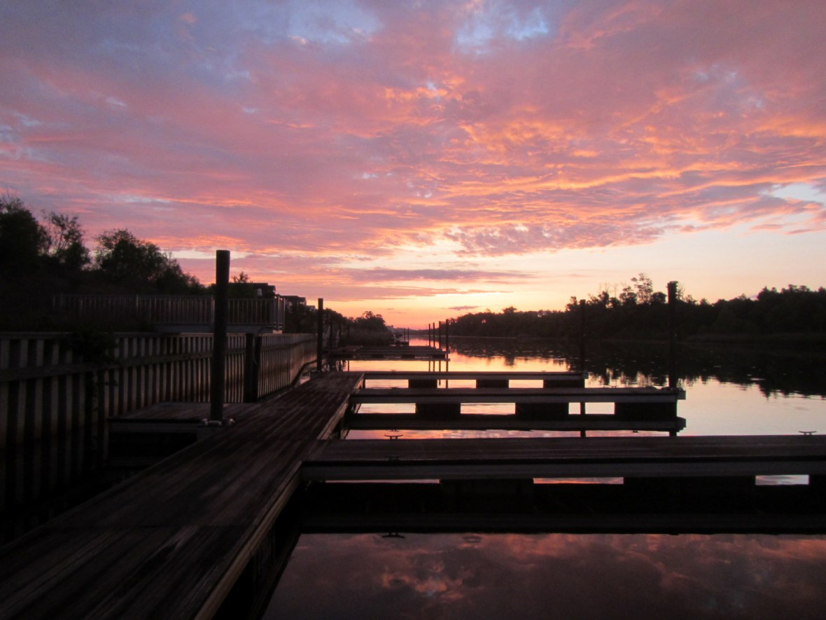 Sunrise on the Intercoastal