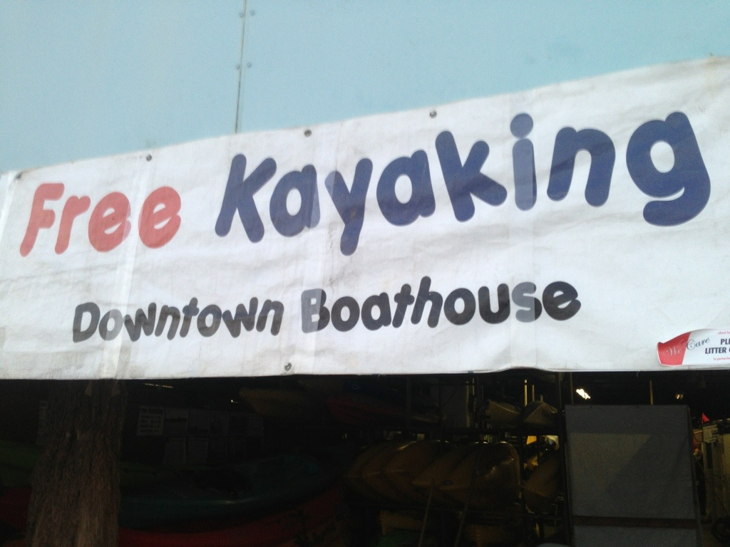 Free Kayaking